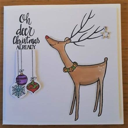 Oh Deer! Christmas already