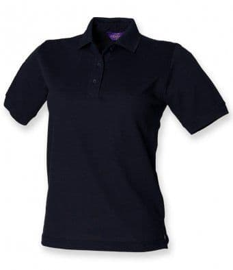Ladies Polo with embroidered Logo